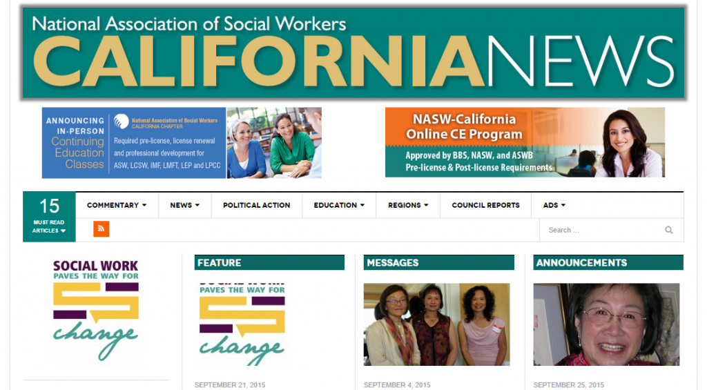 North America Social Workers – California Chapter